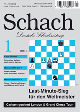 Einzelheft Schach 2016