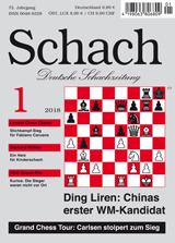Einzelheft Schach 2018