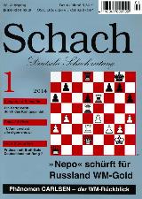 Einzelheft Schach 2014